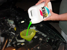 Change / Flush Mustang Coolant