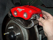 Replace Mustang Front Brakes