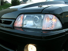 How to equip an 87-93 mustang with HID's the RIGHT way. LOTS of pics