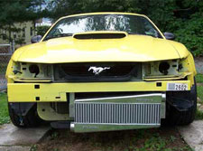How to install a custom intercooler on your 99-04 Mustang GT