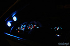 How to equip your Mustangs Gauge Panel with LED lights