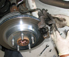 How to change your rear brakes.