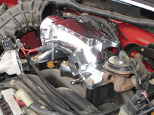 How to replace the upper intake plenum on your Mustang